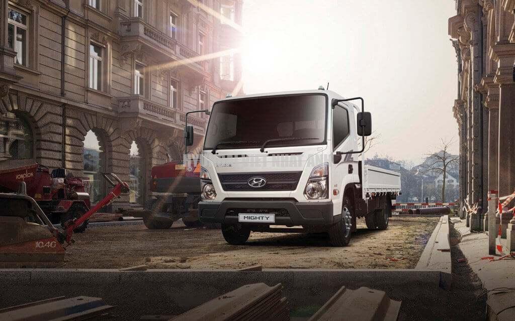 Ngoại thất Xe tải Hyundai Mighty EX8L