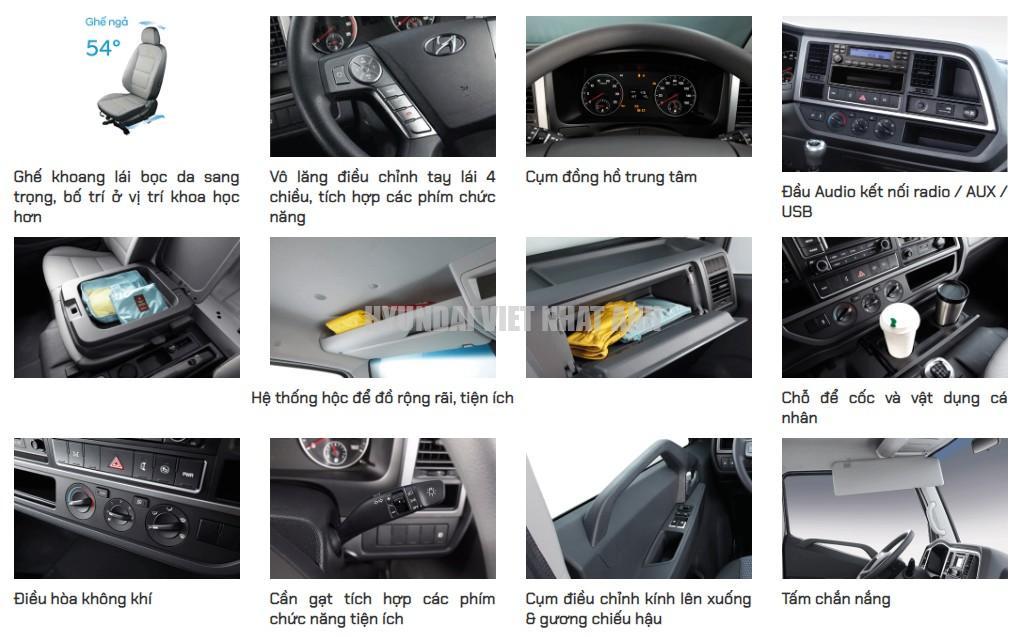 Noi that Xe tải Hyundai Mighty EX8L